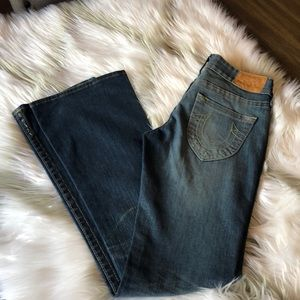 True Religion Jeans with slight flare.